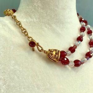 Jewelry - Fashion Jewelry bracelet and necklace purple